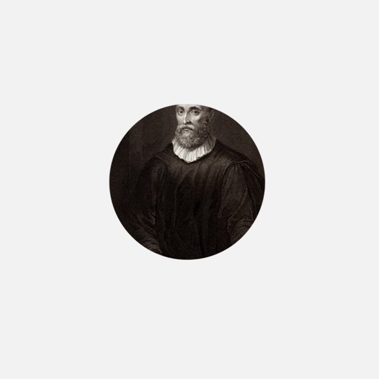 John Knox, Scottish theologian Mini Button