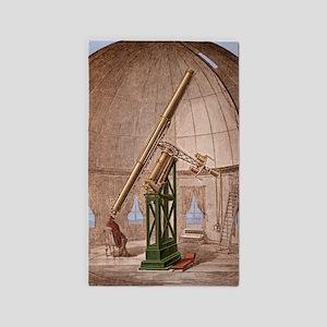 Great Equatorial Telescope Paris 18 3'x5' Area Rug