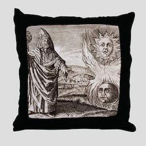 Hermes Trismegistus, classical god Throw Pillow