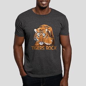 Tigers Rock Dark T-Shirt