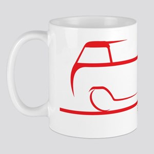 speedy single cab red Mug