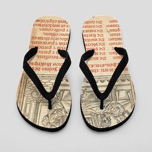 Italian book on surgery, 1514 Flip Flops