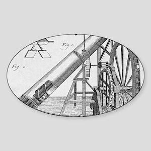 Perpetual motion machine of von Kra Sticker (Oval)