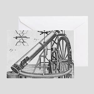 Perpetual motion machine of von Kran Greeting Card