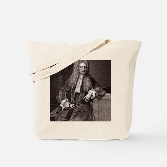 Isaac Newton, English physicist Tote Bag