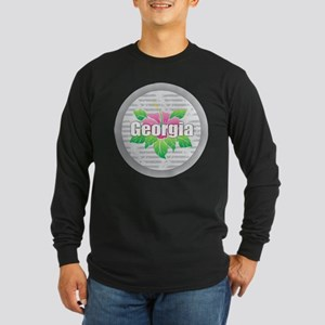 Georgia Hibiscus Long Sleeve T-Shirt