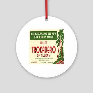 Trocadero Distillery Round Ornament