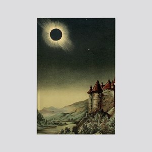 Total solar eclipse of 1842 Rectangle Magnet
