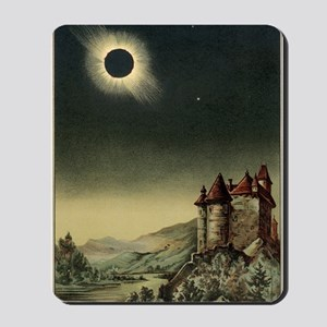 Total solar eclipse of 1842 Mousepad