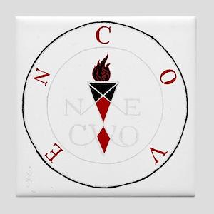 Coven Magick Sigil Tile Coaster