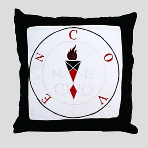 Coven Magick Sigil Throw Pillow