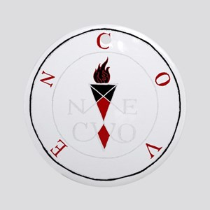 Coven Magick Sigil Round Ornament
