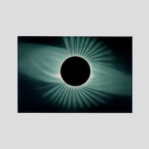 Total solar eclipse, 1878 Rectangle Magnet