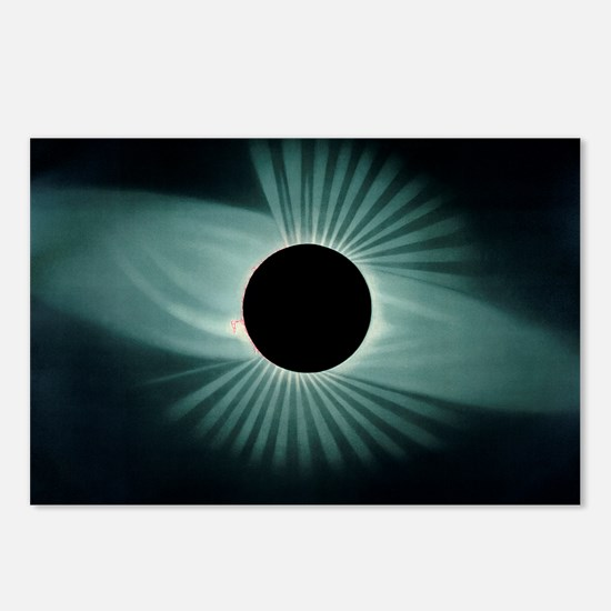 Total solar eclipse, 1878 Postcards (Package of 8)