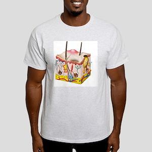 Skin anatomy Light T-Shirt