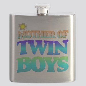 Twin boys mother Flask