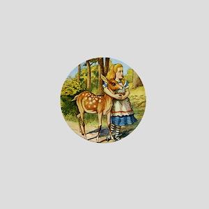 Alice  DEER_SQ Mini Button