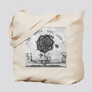 Rosicrucian mystical symbol Tote Bag