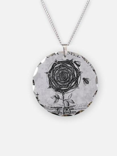 Rosicrucian mystical symbol Necklace