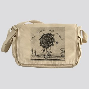 Rosicrucian mystical symbol Messenger Bag