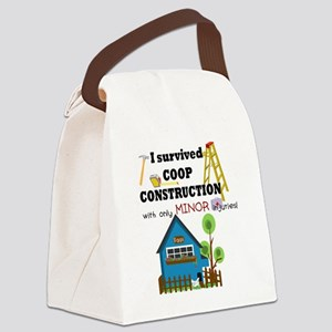 Survived with minor injuries Canvas Lunch Bag