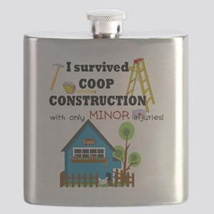 Survived with minor injuries Flask
