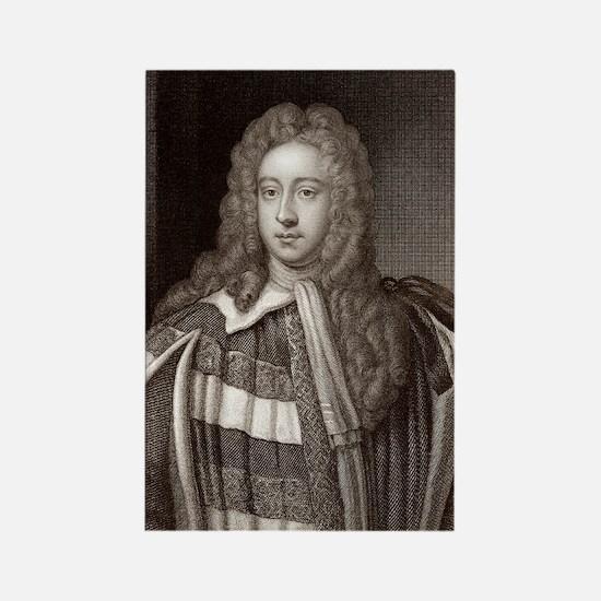 Viscount Bolingbroke, English sta Rectangle Magnet