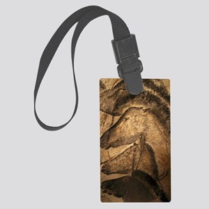 Stone-age cave paintings, Chauve Large Luggage Tag