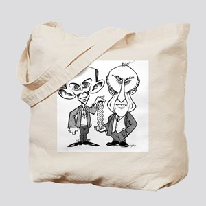 Watson and Crick, DNA discovers Tote Bag