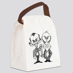 Watson and Crick, DNA discovers Canvas Lunch Bag