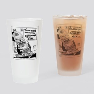 Gordon Cocktails Drinking Glass