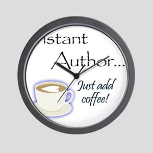 Instant Author 1 Wall Clock