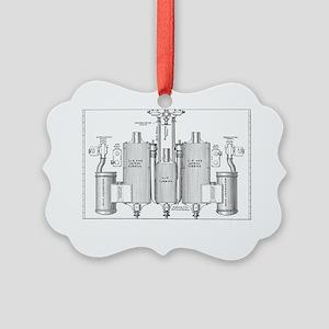 Parsons marine steam turbines Picture Ornament