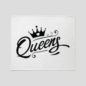 Queens Throw Blanket