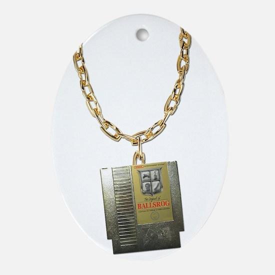 Ballsrogs Zelda Chain Oval Ornament