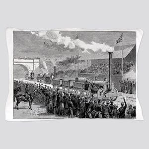 Rainhill Trials, October 1829 Pillow Case