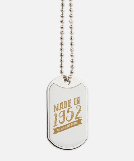 Unique Made 1952 Dog Tags