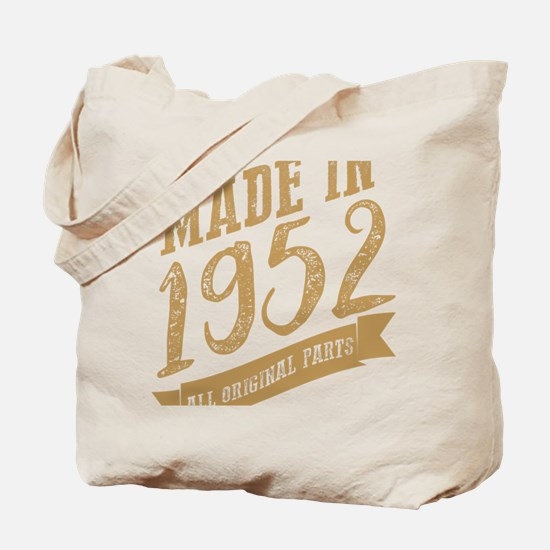 Cool Made in 1952 Tote Bag