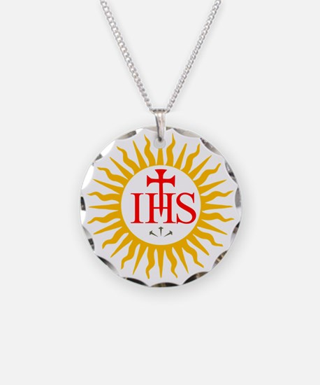 IHS JESUIT SEAL Necklace
