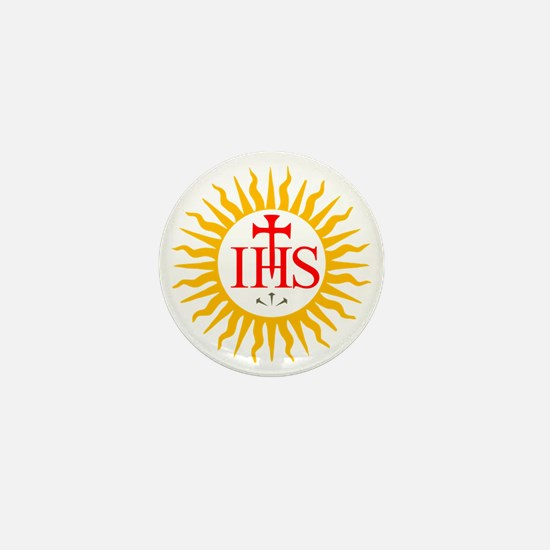IHS JESUIT SEAL Mini Button
