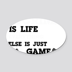 Escrima is life Oval Car Magnet