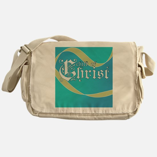 Child of Christ waves Messenger Bag
