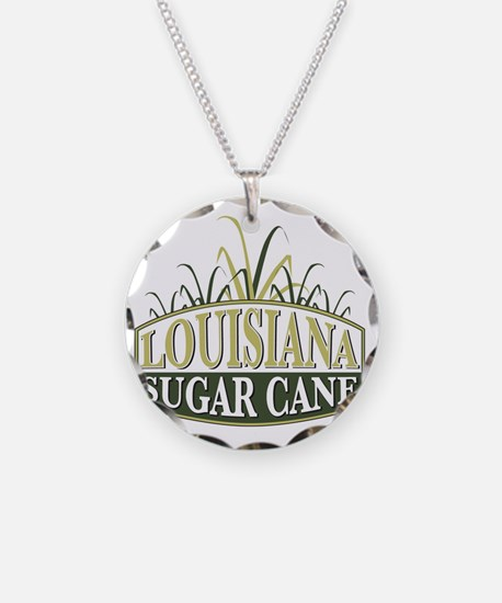 Sugarcane shield Necklace