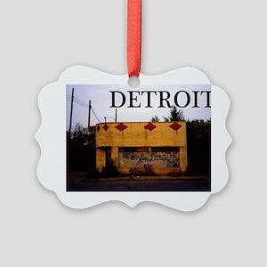 Detroit Picture Ornament