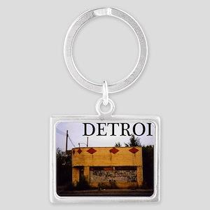 Detroit Landscape Keychain