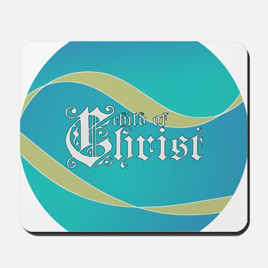 Child of Christ waves Mousepad