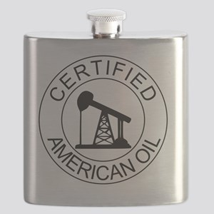Certified American Oil Flask