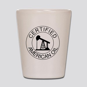 Certified American Oil Shot Glass