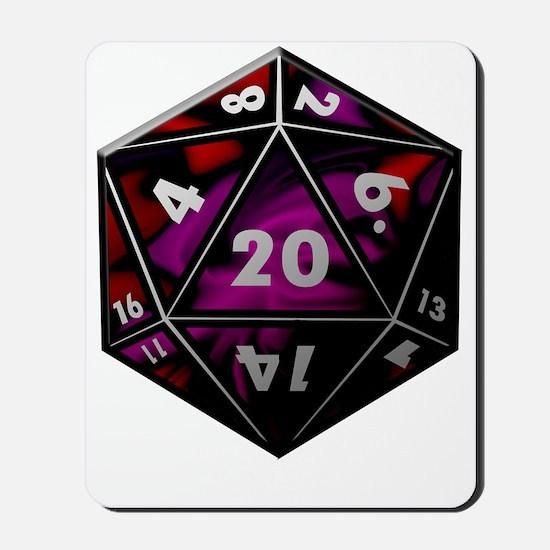 D20 color Mousepad