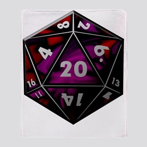 D20 color Throw Blanket